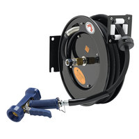 Equip by T&S 5HR-232-12-A 35' Open Hose Reel with Front Trigger Spray Valve and Reducing Adapter