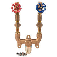 T&S Brass MV-0771-11N Wall Mounted 1/2 inch Mixing Valve Assembly