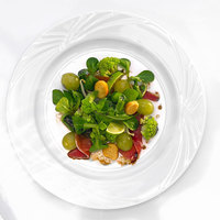 Arcoroc S0606 Horizon 6 1/2 inch White Porcelain Bread and Butter Plate by Arc Cardinal - 36/Case