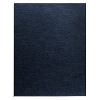 Fellowes 52098 8 1/2 inch x 11 inch Navy Linen Texture Binding System Cover   - 200/Pack
