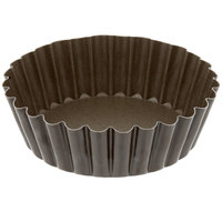 Gobel 4 inch Non-Stick Tart / Quiche Pan Deep Design with Removable Bottom