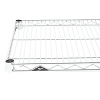 Metro 1424NS Super Erecta Stainless Steel Wire Shelf - 14 inch x 24 inch