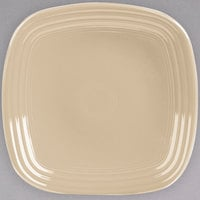 Homer Laughlin 920330 Fiesta Ivory 9 1/8 inch Square China Luncheon Plate - 12/Case