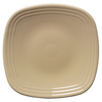 Homer Laughlin 920330 Fiesta Ivory 9 1/4 inch Square Luncheon Plate - 12/Case
