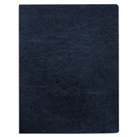 Fellowes 52145 8 3/4 inch x 11 1/4 inch Navy Executive Presentation Binding System Cover   - 50/Pack