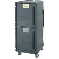 Cambro CMBPHD615 Charcoal Gray Combo Cart Plus with Heavy Duty