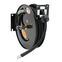Equip by T&S 5HR-232-A 35' Open Hose Reel with Reducing Adapter