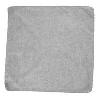 Rubbermaid 1863889 HYGEN Sanitizer Safe 16 inch x 16 inch Gray Microfiber Cloth - 24/Pack