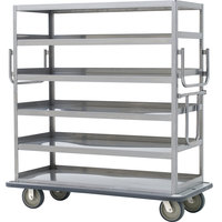 Metro MQ-512F Queen Mary Banquet Service Cart with 5 Flat Shelves