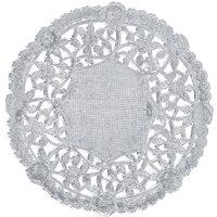 4 inch Silver Foil Lace Doily - 1000/Case