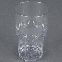 Carlisle 581007 Louis 10 oz. Clear Plastic Tumbler - 24 / Case