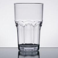 Carlisle 581007 Louis 10 oz. Clear Plastic Tumbler - 24/Case