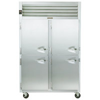 Traulsen G22003 2 Section Half Door Reach In Freezer - Left / Left Hinged Doors