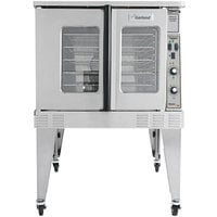 Garland MCO-ES-10 Single Deck Standard Depth Full Size Electric Convection Oven - 240V, 1 Phase, 10.4 KW