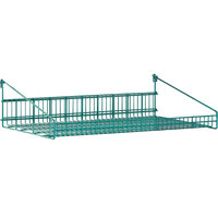 Metro GS1436K3 SmartWall G3 Metroseal 3 Grid Shelf with Retaining Ledge - 14 inch x 36 inch