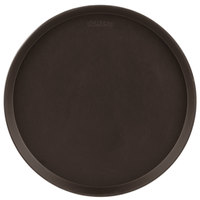 Cambro 900CT138 Camtread® 9 inch Round Tavern Tan Non-Skid Serving Tray - 12/Case