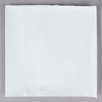 Choice 9 inch x 9 inch White 2-Ply Beverage / Cocktail Napkin - 250/Pack