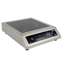Vollrath 6950020 Commercial Series Countertop Induction Cooker - 120V, 1800W