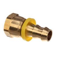 Jackson 4730-011-93-99 Fitting,1/2 Pushlok Female Brass