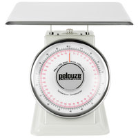 Rubbermaid FG10B200 Pelouze 200 lb. / 90 kg. Dual Read Mechanical Receiving Scale