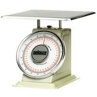 Rubbermaid Pelouze 10B200 200 lb. / 90 kg. Mechanical Receiving Scale - Dual Read (FG10B200)