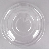 Fineline 5032-L Super Bowl Clear PET Plastic Dome Lid for 32 oz. Bowls - 100/Case