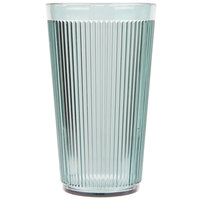 Carlisle 401664 Crystalon Stack-All 16.2 oz. Jade SAN Plastic Tumbler - 12/Case