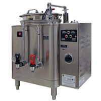 Grindmaster 77110E Single 10 Gallon Automatic Mid Line Coffee Urn - 120/208V, 1 Phase