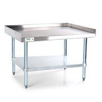 Regency 16 Gauge 30 inch x 30 inch Stainless Steel Equipment Stand with Galvanized Undershelf