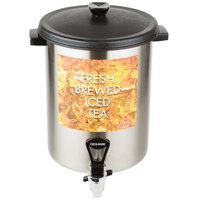 Cecilware B-1/3T Stainless Steel 3 Gallon Iced Tea Dispenser