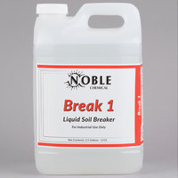 Noble Chemical 2.5 Gallon Break 1 Alkaline Laundry Soil Breaker - 2 / Case