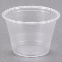 Dart Conex Complements 250PC 2.5 oz. Translucent Plastic Souffle / Portion Cup - 125/Pack
