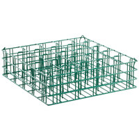 25 Compartment Catering Glassware Basket - 3 1/2 inch x 3 1/2 inch x 5 1/4 inch Compartments