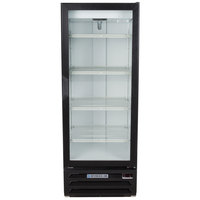 Beverage-Air LV12HC-1-B LumaVue 24 inch Black Refrigerated Glass Door Merchandiser with LED Lighting