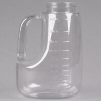 Tablecraft L48J Option Clear Dispenser (Jar Only) - 48 oz.