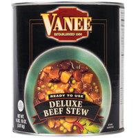 Vanee 490KE #10 Can Deluxe Beef Stew   - 6/Case