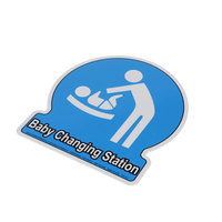 Koala Kare Products 511 Baby Station Decal, Small