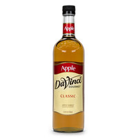 DaVinci Gourmet 750 mL Apple Classic Coffee Flavoring / Fruit Syrup