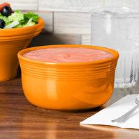 Homer Laughlin 723325 Fiesta Tangerine 24 oz. Gusto Bowl - 6/Case