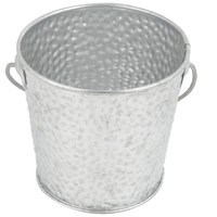 Tablecraft GT44 Galvanized Steel Pail - 4 inch x 4 inch