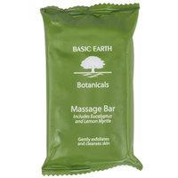 Basic Earth Botanicals Hotel and Motel Wrapped Massage Bath Soap 2 oz. Bar - 200/Case