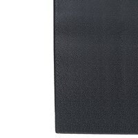 Pebbled Black Tredlite Vinyl Anti-Fatigue Mat 27 inch x 60 inch - 3/8 inch Thick