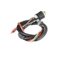 Hubbell HBL12370-1530 5 Wire Ansul Cord 9' Interlock