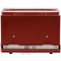 Vollrath 3802-02 Straw Boss Double Sided Bulk Straw Dispenser - Red