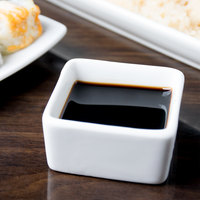 Chef & Sommelier S1052 Purity 2 oz. White Square Bowl by Arc Cardinal - 24/Case