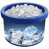IRP 900 Blue Ice Cube 4 Qt. Countertop Merchandiser