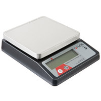 Taylor TE10FT 11 lb. Compact 5 3/8 inch x 5 3/8 inch Digital Portion Control Scale