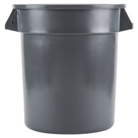 10 Gallon Gray Trash Can