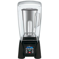 Waring MX1500XTS Xtreme 3 1/2 hp Commercial Blender with Programmable Keypad, LCD Screen, Adjustable Speed, and 64 oz. Stainless Steel and Copolyester Containers