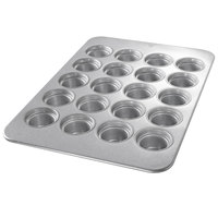 Chicago Metallic 44555 20 Cup Glazed Oversized Large Crown Muffin Pan - 17 7/8 inch x 25 7/8 inch